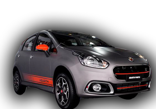 Fiat Punto Abarth Front Side View Exterior Picture