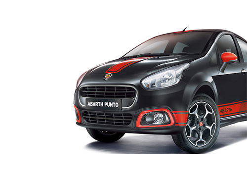 Fiat Punto Abarth Front Angle Low Wide Exterior Picture