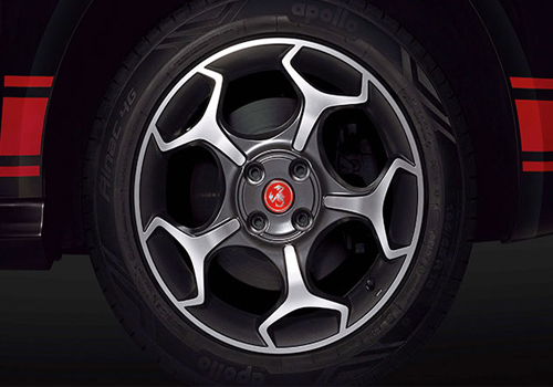 Fiat Punto Abarth Wheel and Tyre Exterior Picture