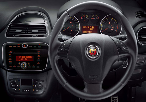 Fiat Abarth Steering Wheel Picture