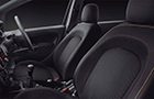 Fiat Punto Abarth Front Seats Picture