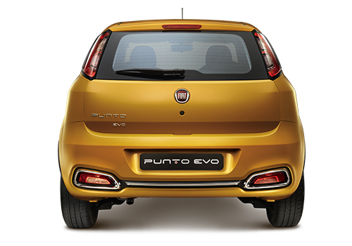 Fiat Punto EVO Rear View Exterior Picture