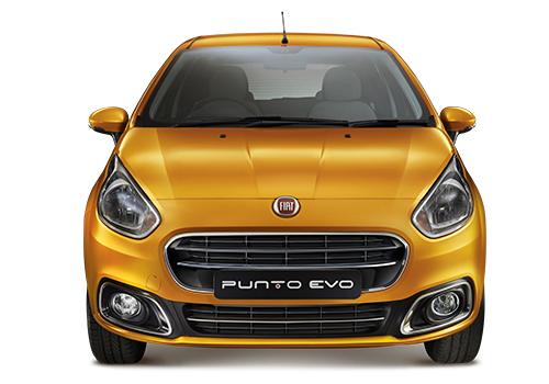 Fiat Punto EVO Front View Exterior Picture