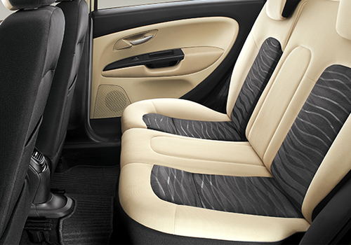 Fiat Punto EVO Rear Seats Interior Picture