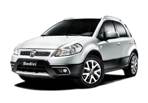 Fiat Sedici Front Angle View Exterior Picture