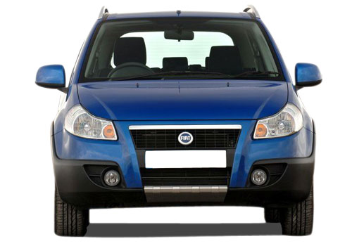 Fiat Sedici Front View Exterior Picture