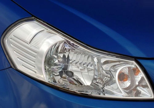 Fiat Sedici Headlight Exterior Picture