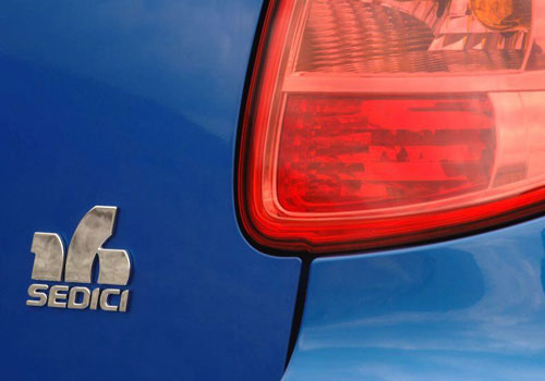 Fiat Sedici Tail Light Exterior Picture