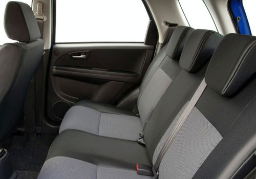 Fiat Sedici Rear Seats Interior Picture