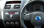 Fiat Sedici Front AC Controls Picture