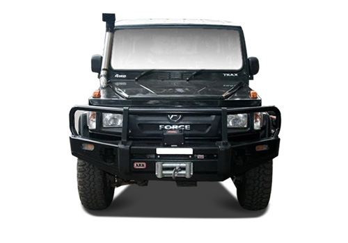 Force Gurkha Front View Exterior Picture
