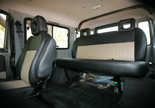 Force Gurkha Front Seats Interior Picture