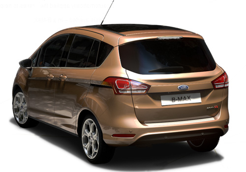 Ford B Max Cross Side View Exterior Picture