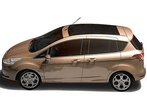 Ford B Max Front Angle Side View Exterior Picture