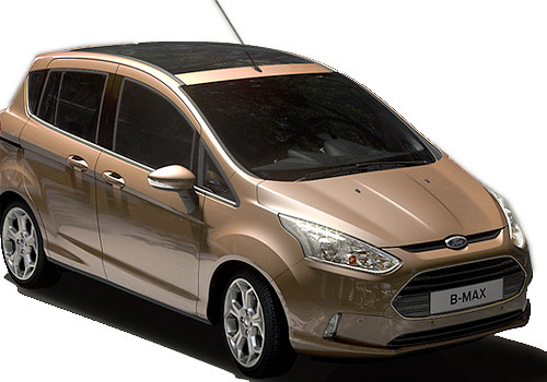 Ford B Max Front Low Angle View Exterior Picture