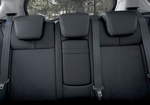 Ford B Max Rear Seats Interior Picture