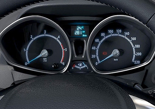 Ford B Max Tachometer Interior Picture