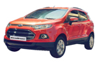 Ford Ecosport in Mars Red Color