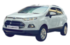 Ford Ecosport in Diamond White Color