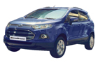 Ford Ecosport in Kinetic Blue Color