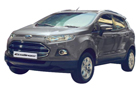 Ford Ecosport in Moondust Silver Color