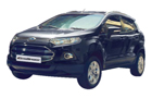 Ford Ecosport in Panther Black Color