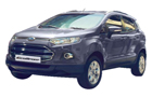 Ford Ecosport in Silver Color