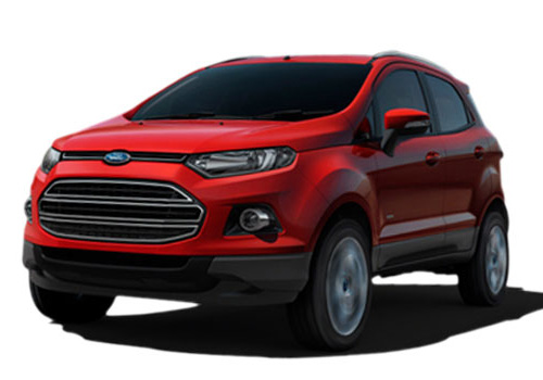 Ford EcoSport Front  Angle View Picture