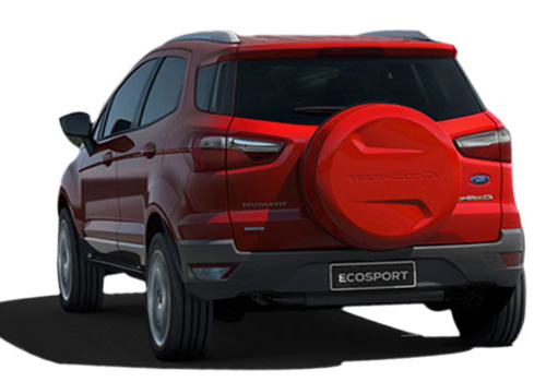 Ford EcoSport Rear View Picture