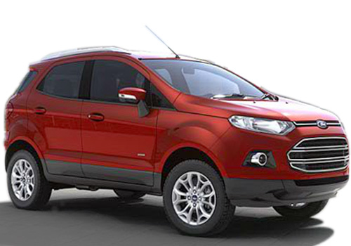 Ford Ecosport Front Side View Exterior Picture