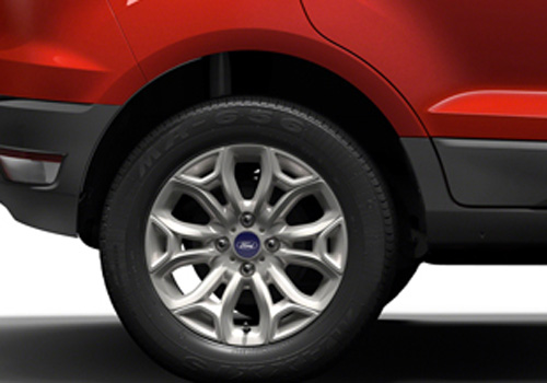 Ford Ecosport Wheel and Tyre Exterior Picture