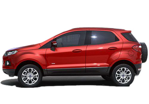 Ford Ecosport Front Angle Side View Exterior Picture