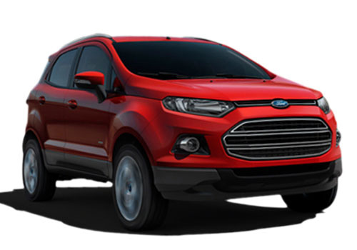 Ford Ecosport Front Low Angle View Exterior Picture