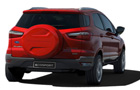 Ford Ecosport Rear Angle View Picture  Ford Ecosport Rear Angle View Picture