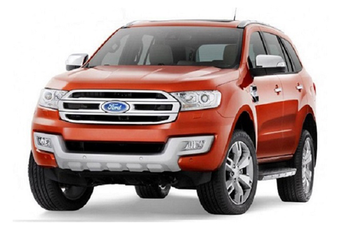 Ford Endeavour Front Side View