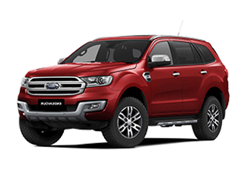 Ford Endeavour Front Angle Low Wide Exterior Picture