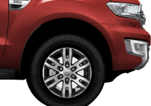 Ford Endeavour Wheel and Tyre Exterior Picture