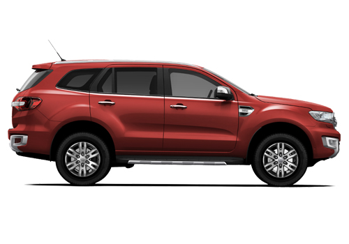 Ford Endeavour Front Low View Picture