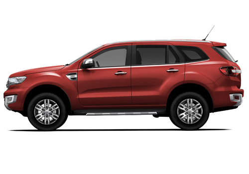 Ford Endeavour Front Angle Side View Exterior Picture