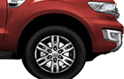 Ford Endeavour Wheel and Tyre Picture