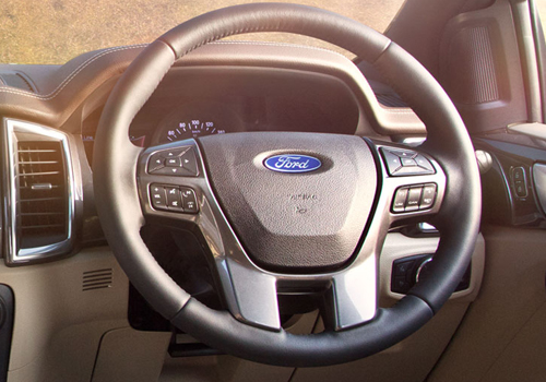 Ford Endeavour Steering Wheel Interior Picture
