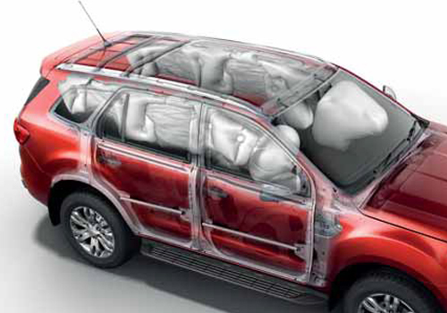 Ford Endeavour Airbag Interior Picture
