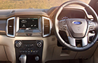 Ford Endeavour Central Control Picture