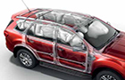 Ford Endeavour Airbag Picture