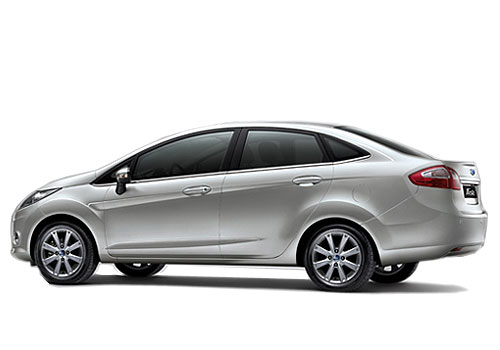 Ford Fiesta Classic Cross Side View Exterior Picture