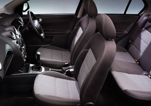 Ford Fiesta Classic Front Seats Interior Picture