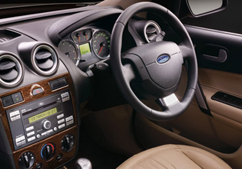 Ford Fiesta Classic Steering Wheel Interior Picture
