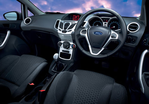 Ford Fiesta Classic Central Control Interior Picture