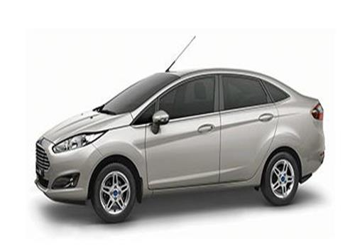 Ford Fiesta Side View Picture