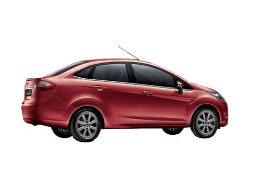 Ford Fiesta Rear Angle View Exterior Picture
